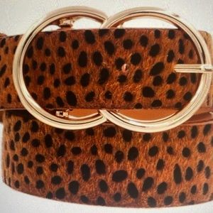 Rust colored animal print belt —coming soon—-